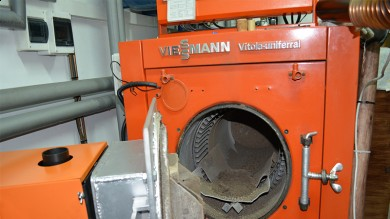 Another Viessmann boiler modernization