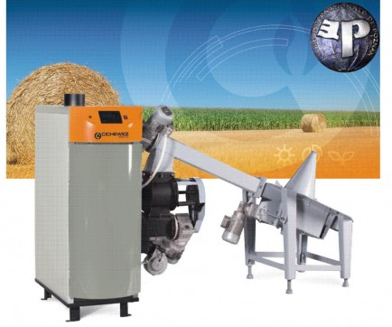Biowarmer Pellets | woodchips 25 kW
